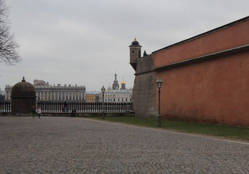 Государев бастион, Петропавловская крепость, город Санкт-Петербург, Россия