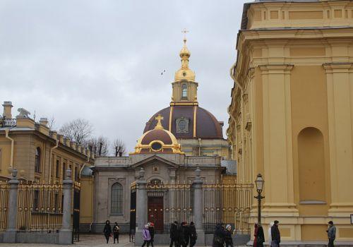 Великокняжеская усыпальница, Петропавловская крепость, город Санкт-Петербург, Россия